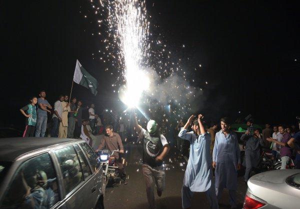В Пакистане - День Независимости