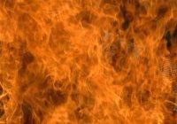 Сильный пожар случился в Джидде (Видео)