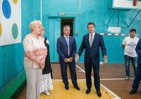 Мэр Казани посетил 100-летнюю татарскую гимназию