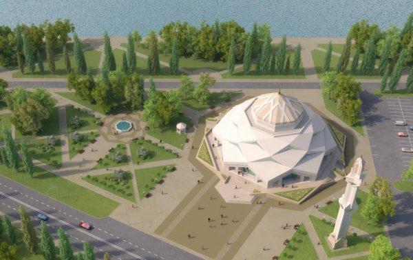 Увидьте первыми уникальную мечеть -