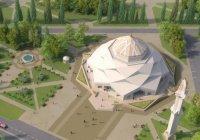 """Увидьте первыми уникальную мечеть - """"цветок"""""""