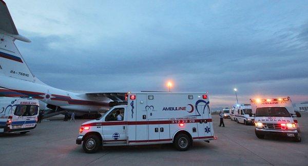 Все, кроме одного пассажира, получили помощь медиков амбулаторно