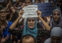 Мусульмане Барселоны провели манифестацию против террора