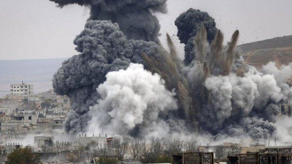 Произошел взрыв на территории воздушной базы «Аль-Найраб» в Алеппо