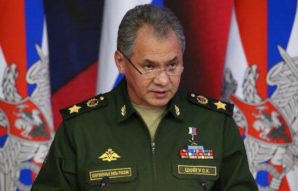 Сергей Шойгу: Гражданская война в Сирии прекращена