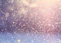 К концу недели в России выпадет снег