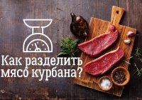 Как распорядиться мясом курбана?