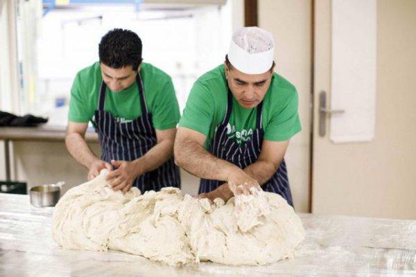 Мусульмане приготовили треугольный пирог массой в 153 кг