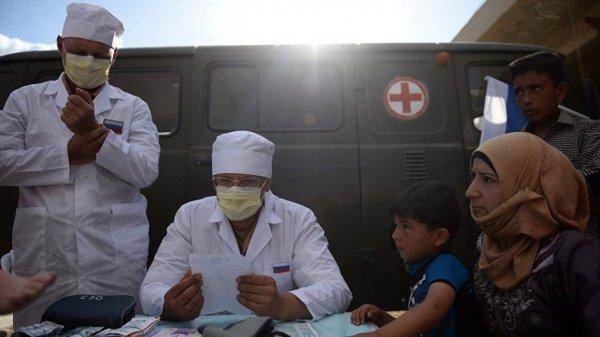 Сирийцам передали 274 т продуктов питания и предметов первой необходимости