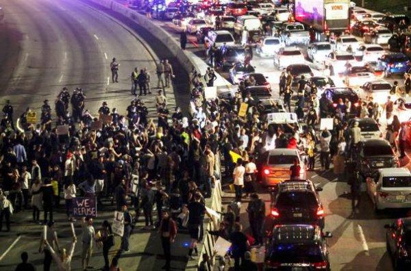 Массовые протесты в США проходят все чаще.