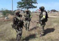 Опубликована видеозапись спецоперации по ликвидации боевиков в Дагестане (Видео)
