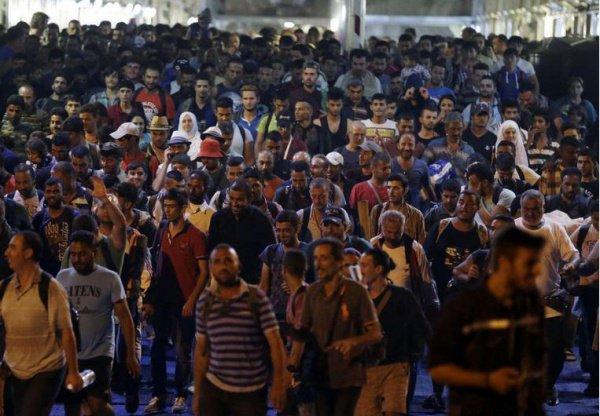 Европа переживает крупнейший миграционный кризис.
