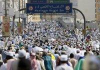 Паломники начали совершать обряды Хаджа