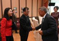 Минниханов встретился с делегацией из Китая