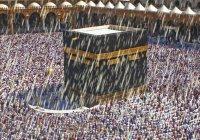 Редчайшие кадры из Мекки: ливень в Запретной мечети
