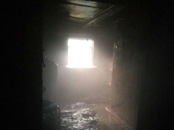 Пожар удалось потушить за 20 минут