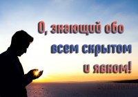 Молитва, которую читал и велел читать своей умме Пророк (мир ему)