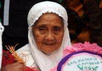 Самую пожилую паломницу встретили в КСА с особыми почестями