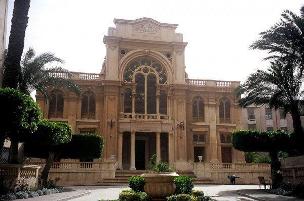 Cинагога Элиягу Ханави. Александрия, Египет.