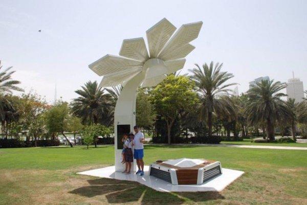 Будущее наступило: раздающие WiFi смарт-пальмы