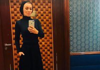 Мария Захарова облачилась в хиджаб (Фото, Видео)