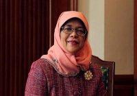 Мусульманка впервые может стать президентом Сингапура