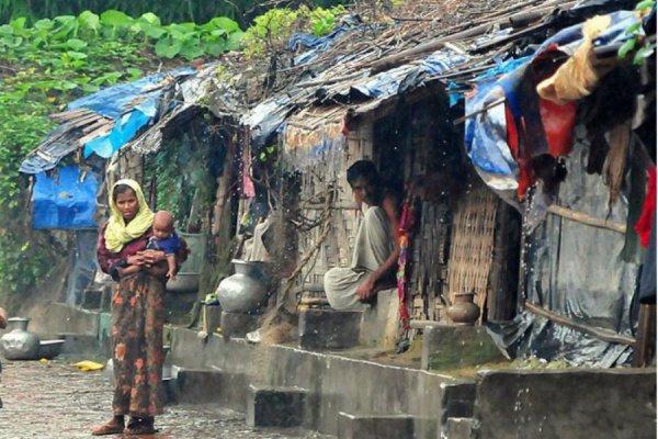 Рохинджа вынуждены жить в нищете.