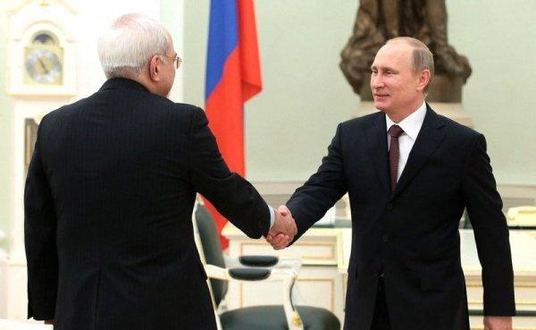 Путин и Зариф обсудили Ближний Восток.