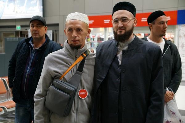 Муфтий РТ встретил очередную группу паломников (Фото)