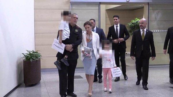 Российские дети продолжают возвращаться из Ирака.