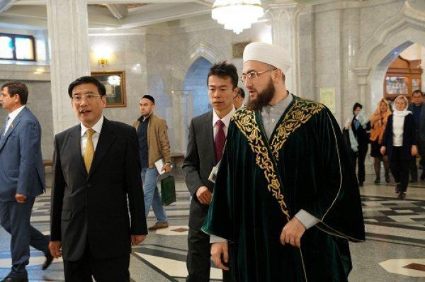Муфтий РТ с гостями из Китая.