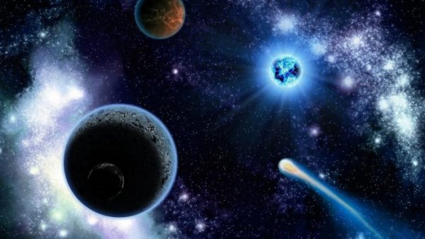 Ученые обнаружили вГалактике практически  безусловно  черную планету