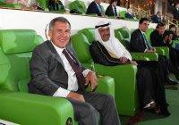 Минниханов принял участие в открытии «Азиады-2017» в Ашхабаде