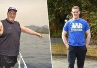 Из-за племянника британец сбросил 190 кг