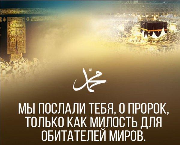 «Мы направили тебя как милость для миров»