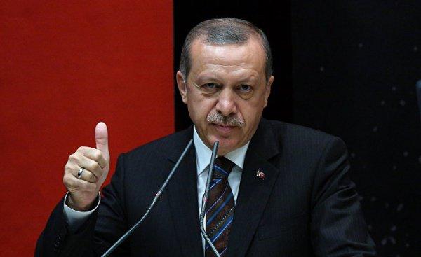 Эрдоган встал назащиту курдов, назвав их«друзьями Турции»