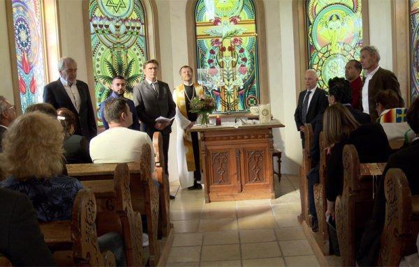 Церковь пяти религий открылась в Австрии (Фото)