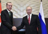 Песков сообщил о предстоящей встрече Путина и Эрдогана