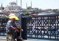В Стамбуле – рекордная жара