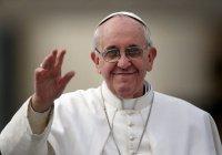 Папа Римский дебютировал в кино