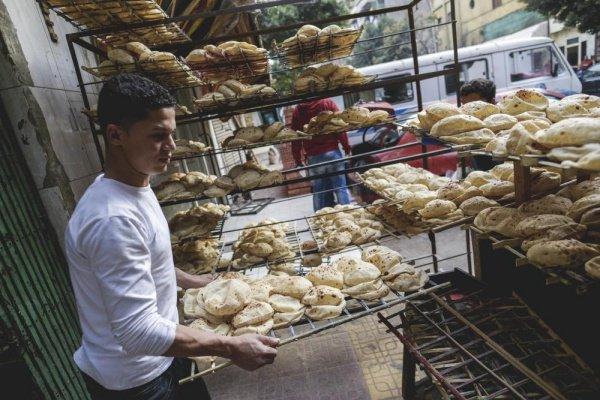 Пекарня в центре Каира