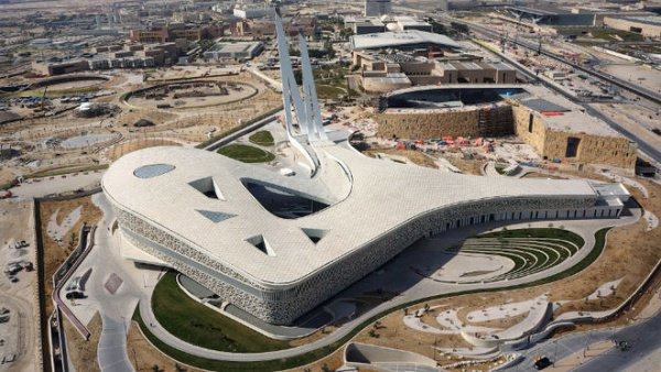 СМИ опубликовали фото самой необычной мечети в мире (Фото)