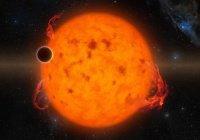 Найдена пожирающая планеты звезда