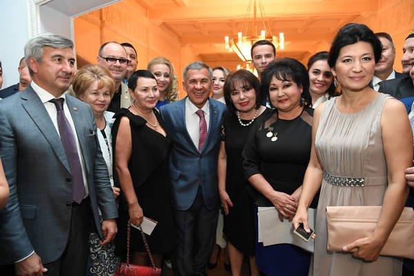 Президент Татарстана ознакомился сдостопримечательностями Самарканда
