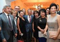 Рустам Минниханов встретился с татарами Узбекистана