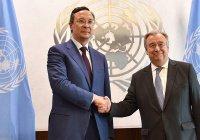 Генсек ООН поблагодарил Казахстан за усилия в урегулировании в Сирии