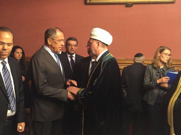 Лавров высоко оценил вклад Татарстана в укрепление связей РФ с исламским миром
