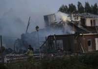 В Швеции сожгли мечеть