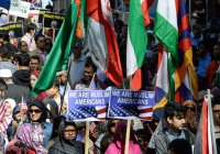 Парад мусульман прошел в Нью-Йорке