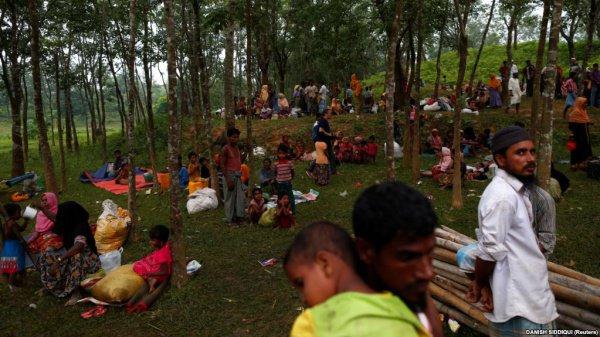 В Бангладеш находятся более полумиллиона беженцев из Мьянмы.